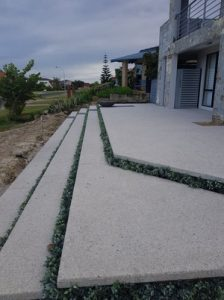 Karrinyup exposed aggregate